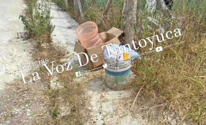 Fétidos olores movilizan a cuerpos de seguridad, en Tantoyuca   LVDT