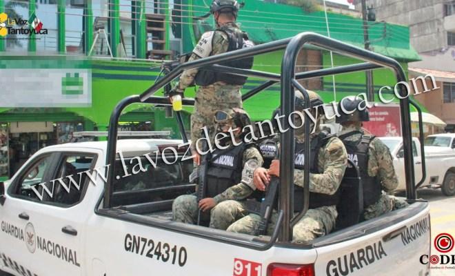 Llegó la Guardia Nacional a Tantoyuca   LVDT