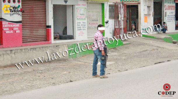 Reporte de hombres armados moviliza a cuerpos de seguridad en Tantoyuca | LVDT