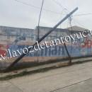 Conductor destroza poste de TELMEX en Tantoyuca | LVDT