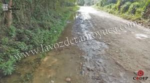 Imparable las fugas de agua en la zona urbana y rural | LVDT