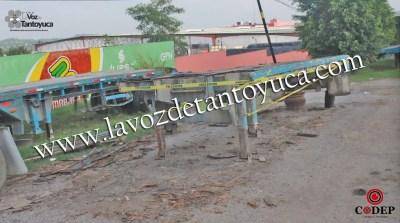 Lo detiene la Policía Ministerial; desvalijaba una plataforma sobre la municipalizada | LVDT