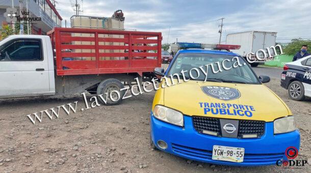 Choca contra patrulla | LVDT