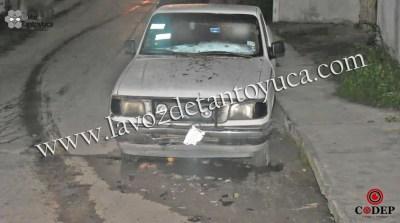 Se da a la fuga tras chocar camioneta estacionada, en Tantoyuca | LVDT