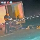 Repartidor de pollos pierde la vida tras aparatoso accidente   LVDT