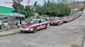 Reubica Tránsito Municipal rampa de taxis de Aurrera | LVDT