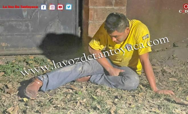 Hombre alcoholizado moviliza a cuerpos de emergencia, en Tantoyuca | LVDT