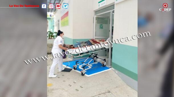 Ancianito resulta gravemente herido tras ser atropellado por taxista, en Chicontepec   LVDT