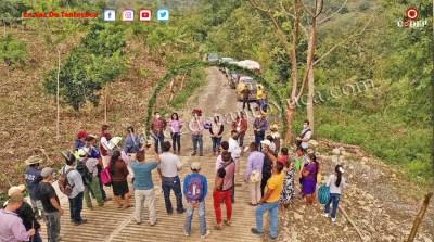 Rehabilita Ayuntamiento camino rural en Xihuicalco | LVDT