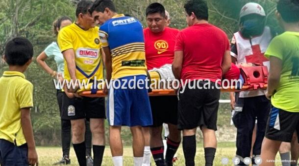 Jugador sufre lesión | LVDT