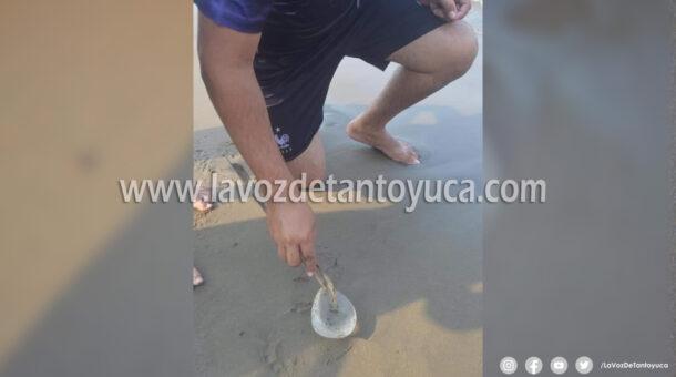 Localizan implante de seno en playa de Coatzacoalcos | LVDT