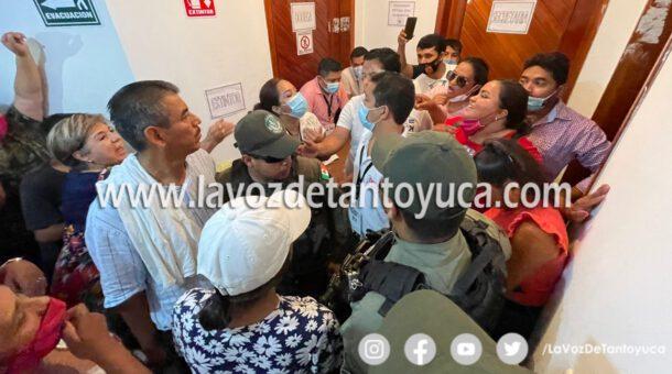 Denuncian inconsistencias en el proceso electoral y en el cómputo municipal de Tantoyuca.