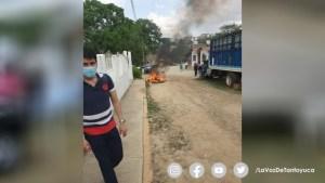 Incendian boletas electorales en Castillo de Teayo