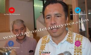 Cuitlahuac García Jiménez, Gobernador del Estado de Veracruz   LVDT