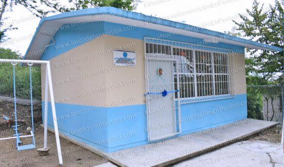 Rehabilita Ayuntamiento aula escolar en el Jardín de Niños Ernestina Guerrero | LVDT