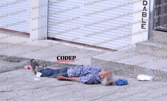 Muere hombre de la tercera edad tras caerse en la vía pública | LVDT