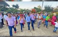 Inaugura alcalde rehabilitación de camino rural en Ahuatitla Arriba