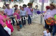 Inaugura Pedro Adrián Martínez Estrada nuevo Sistema de Agua Potable en Ahuatitla