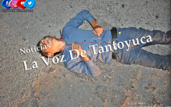 Ciclista resulta lesionado tras ser atropellado por motociclista, en Tantoyuca   LVDT
