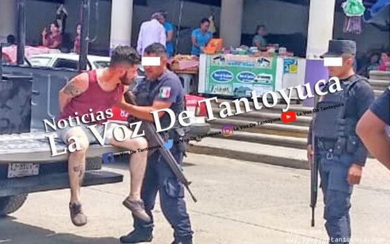 Con droga y en un vehículo oficial detienen al hijo de Guadalupe Arguelles Lozano en Chicontepec | LVDT