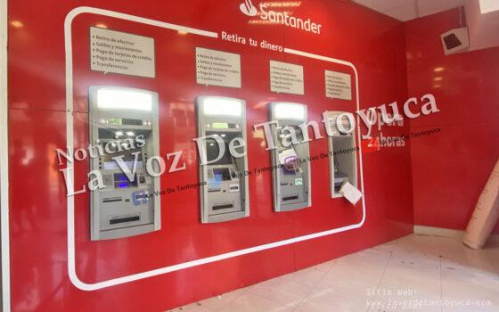 Reportan fallas en cajeros automáticos y en App de Grupo Santander | LVDT