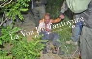Amarran a loco sujeto; macheteó a una pareja en Tantoyuca