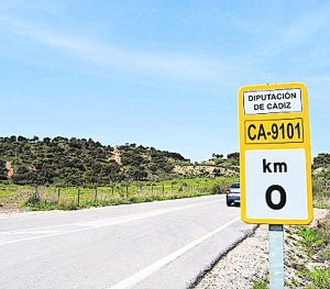 Diputación mejora la seguridad vial en carreteras de la Sierra