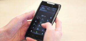 El teléfono que aleja el miedo