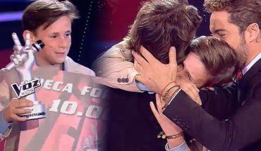 José María ganador de la segunda temporada de la voz kids