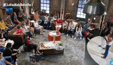 Equipo de Rosario Flores al inicio de las Batallas en La Voz Kids 4 España