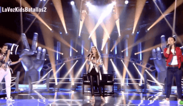 Irene vs Carolina vs Sara - Runnin '(Lose It All) (Naughty Boy y Beyonce) Batallas La Voz Kids 4 España