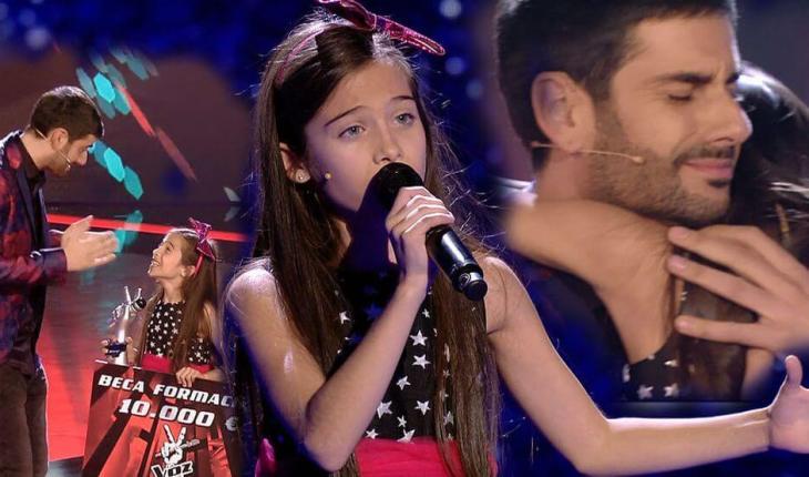 Melani ganadora de La Voz Kids 4 España