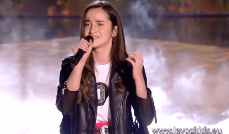 Sara - Te dejé marchar (Semifinal La Voz Kids)