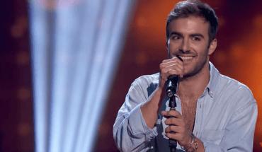 AsÍ cantó Álvaro De Luna la canción La flaca en las Audiciones a ciegas del programa de Antena 3 La Voz 2019 . (1)