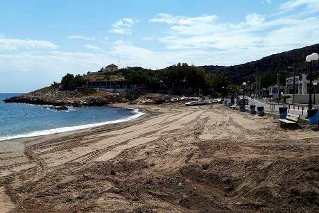 Καθαρισμός Πρώτης Παραλίας Κακής Θάλασσας Κερατέας