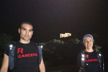 Cancel the Cancer: Έτρεξαν από το Ο.Α.Κ.Α. μέχρι το Σούνιο για τον Βαγγέλη
