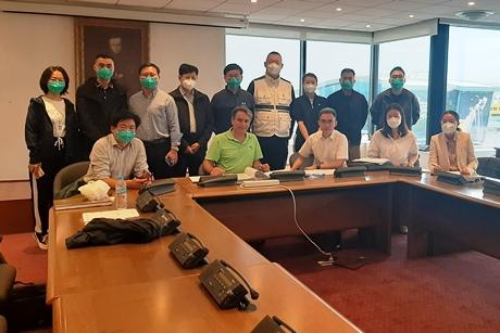 Συνάντηση του Δρ. Κωνσταντίνου Πανταζή με την οργανωτική επιτροπή για τους Χειμερινούς Ολυμπιακούς αγώνες «Πεκίνο 2022»
