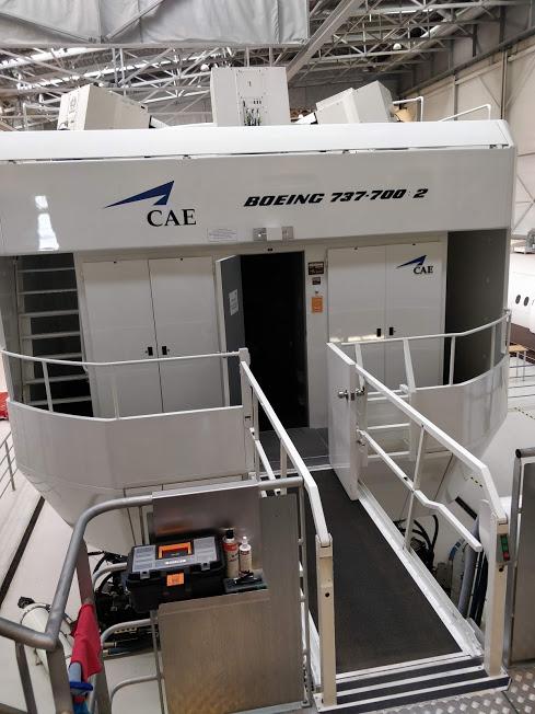 Copenhagen B737 simulator