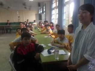 El segundo grupo de alumnos