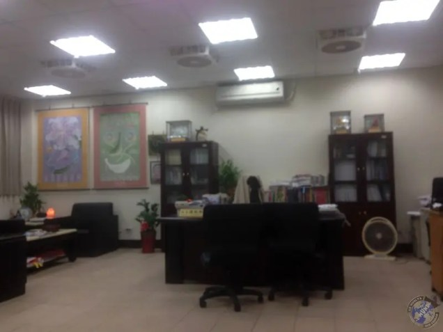 El despacho de Iván en la escuela de Keelung