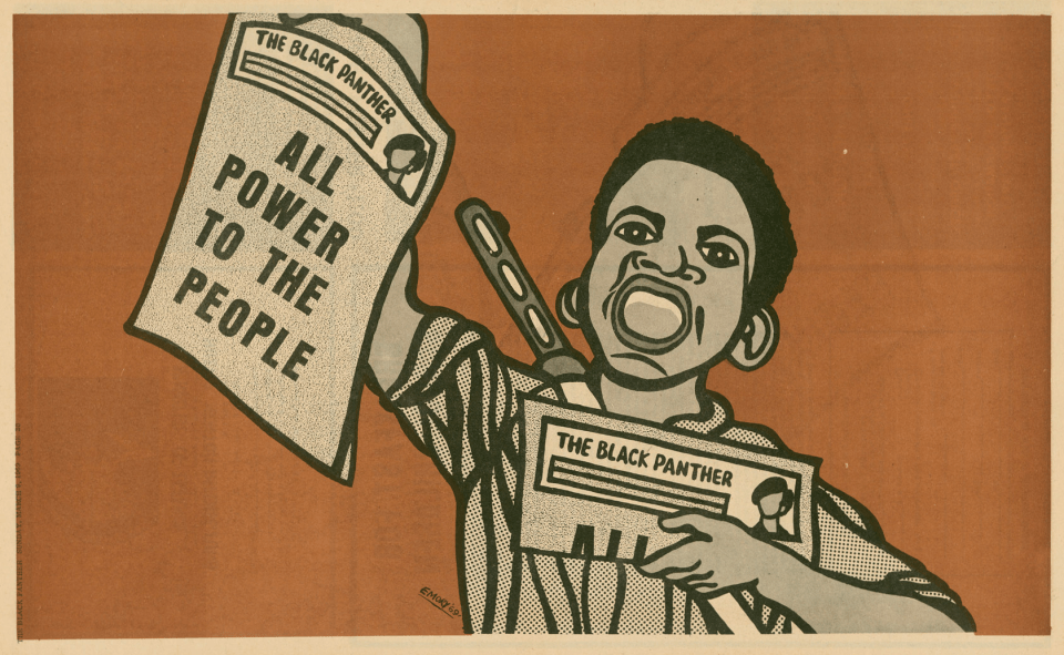 Emory Douglas lectures at RISD Auditorium