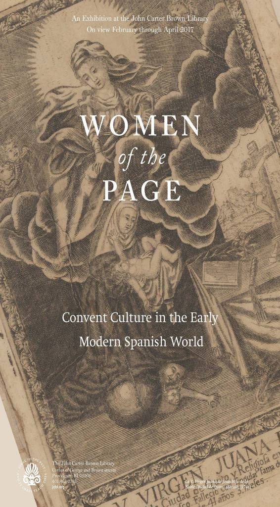 Women of the Page at John Carter Brown Library