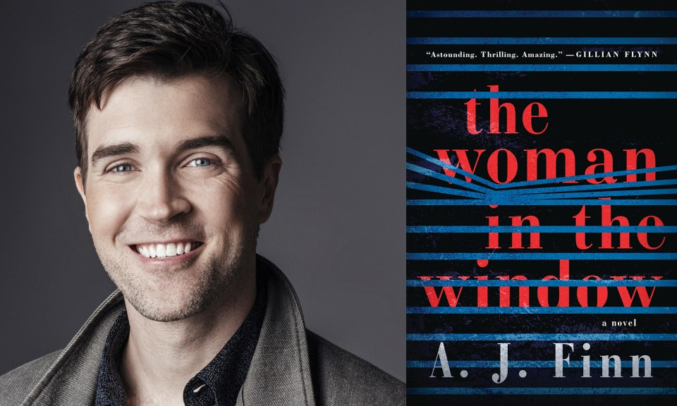 aj finn, author of the woman in the window