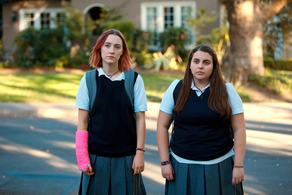 Lady Bird Saoirse Ronan and Beanie Feldstein