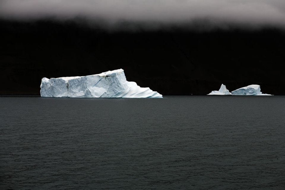 Iceberg Floating By, East Greenland, August 23, 2006