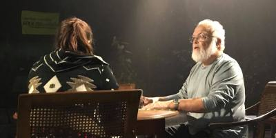 Terry Simpson in The Father at Contemporary Theater Company