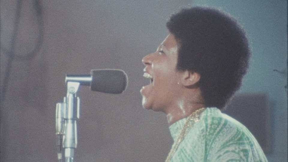 amazing grace aretha franklin movie