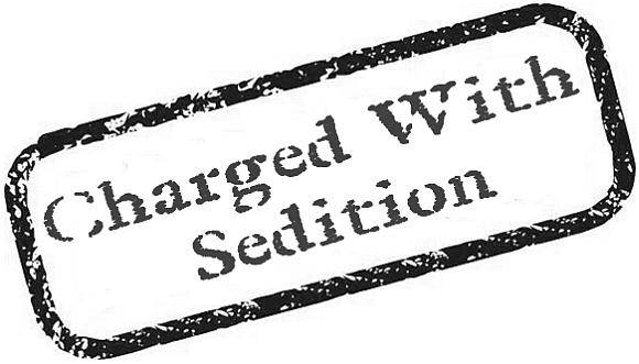 13charged with sedition SEDITION IN INDIA