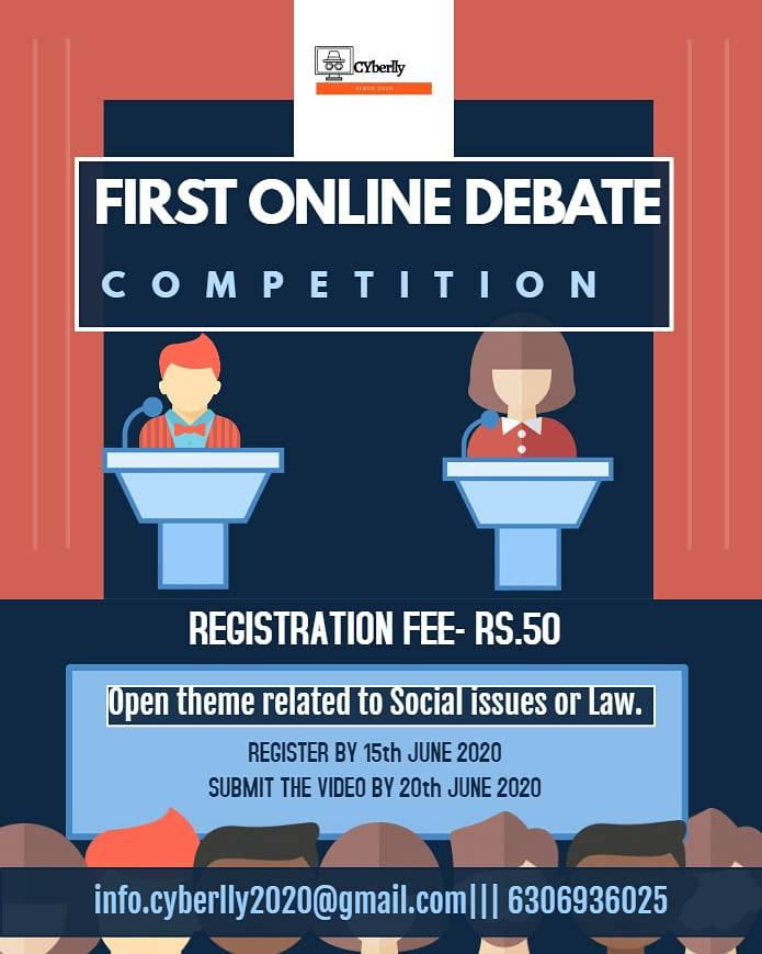 30d91661 5d16 438f b1fc fbc8d7e6a1dc 1ST ONLINE DEBATE COMPETITION BY CYBERLLY: REGISTER BY 15TH JUNE, 2020