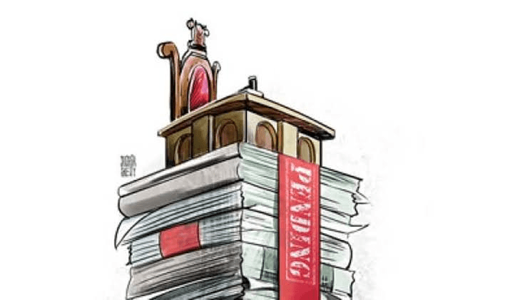 Pendency of Legal Cases in India's Judicial System